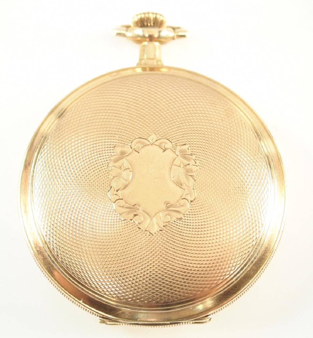 Elgin 14 k Gold pocket watch