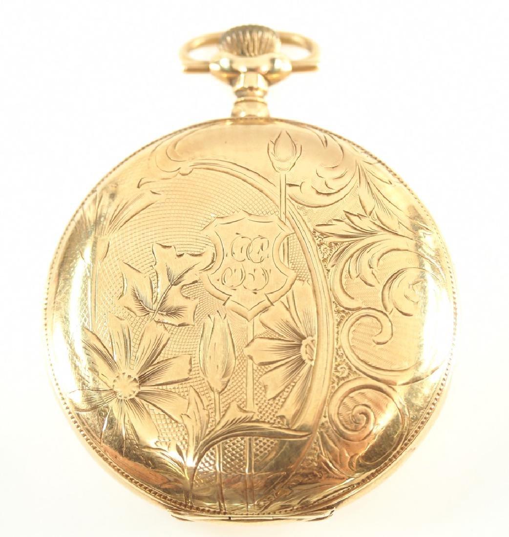 Rockford 14 k Gold pocket watch