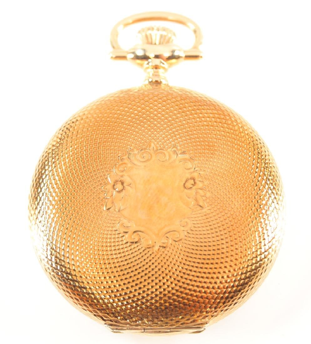 Elgin 14 k Gold pocket watch