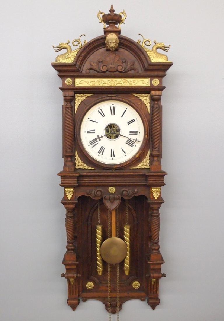 Waterbury Augusta wall clock
