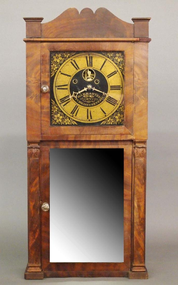 Hotchkiss & Benedict shelf clock