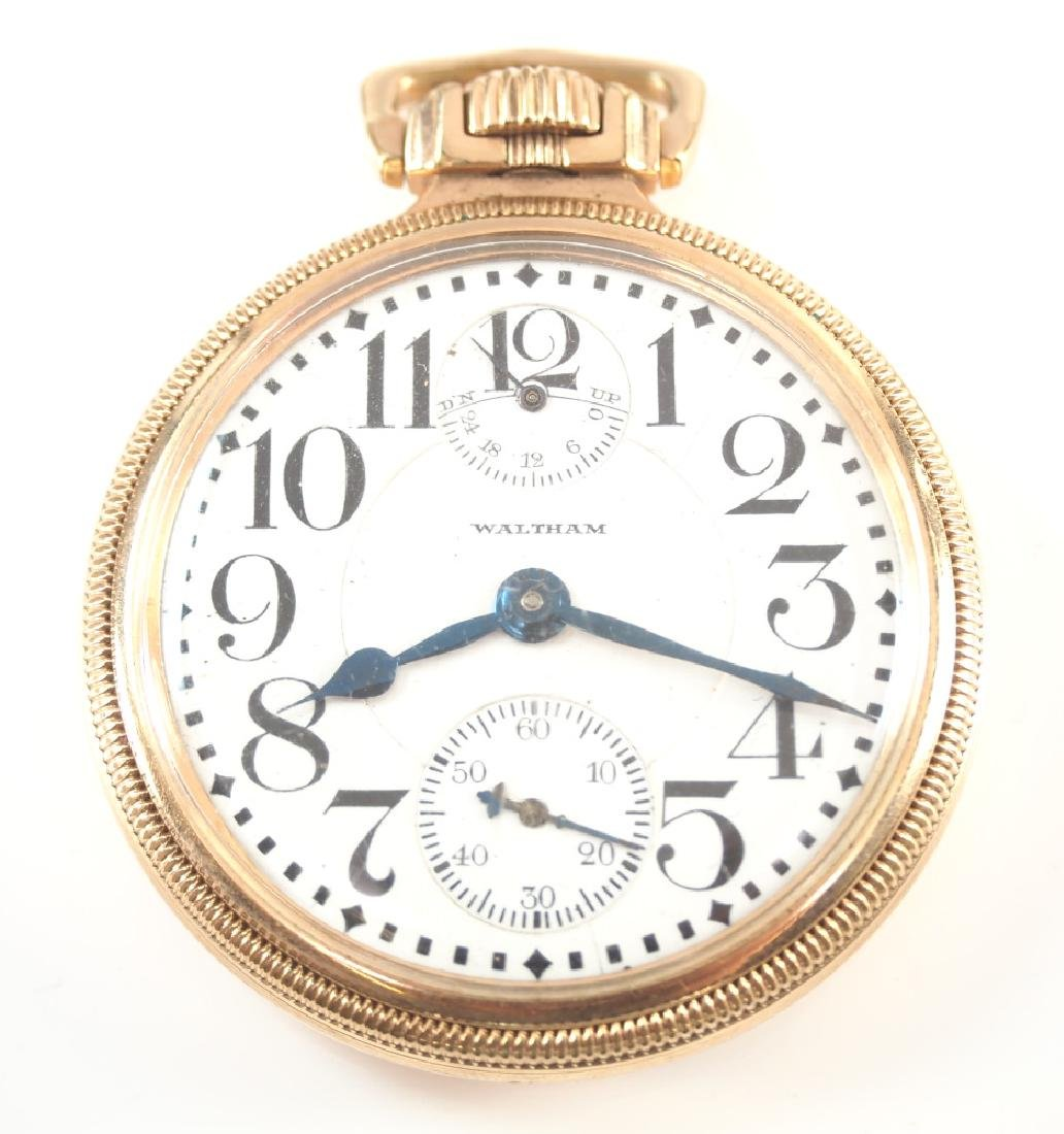 AWW Co. Vanguard Up/Down pocket watch