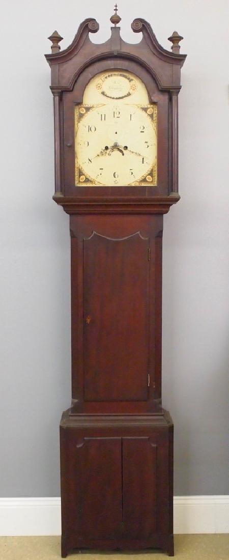 Scottish tall clock