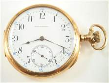 Vacheron & Constantin 14 k Gold pocket watch