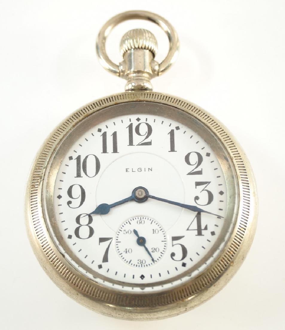 Elgin 23j Veritas Railroad watch