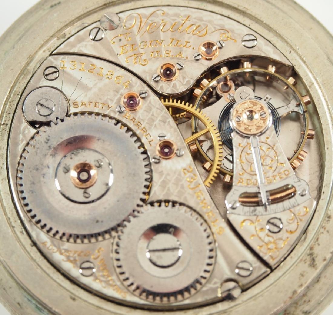 Elgin 23j Veritas Railroad watch - 3