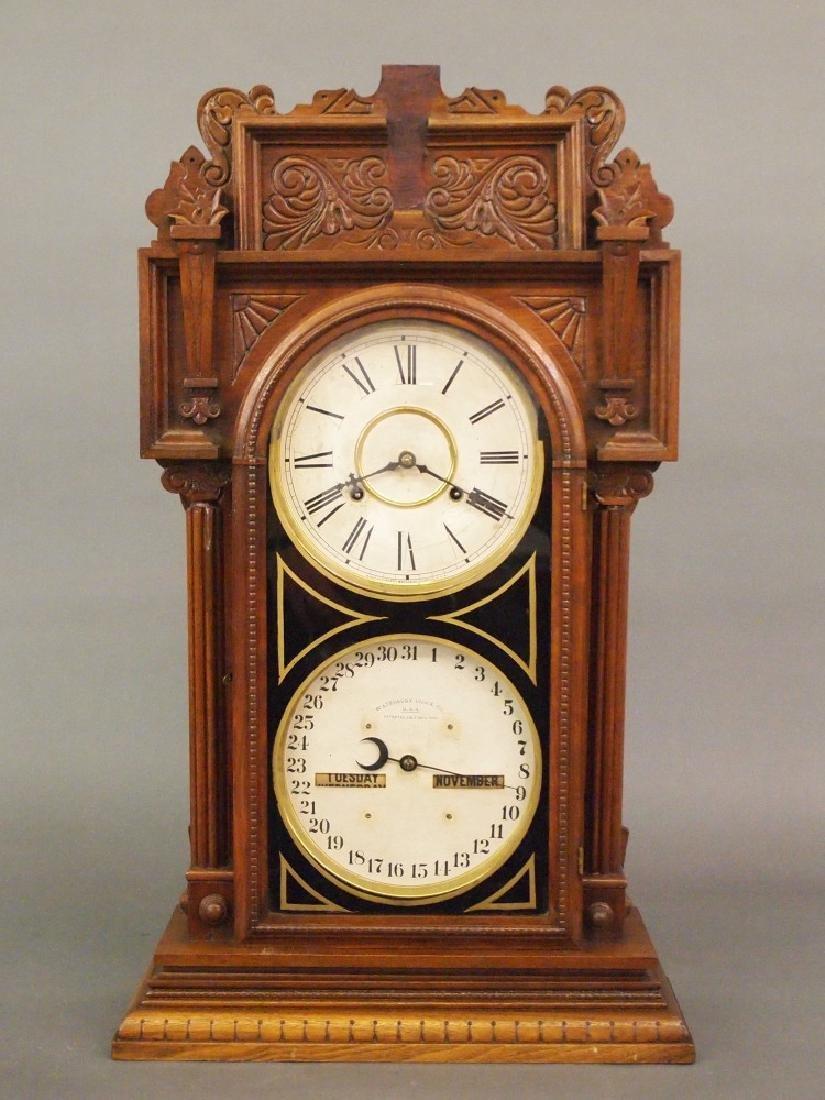 Waterbury No. 43 calendar clock
