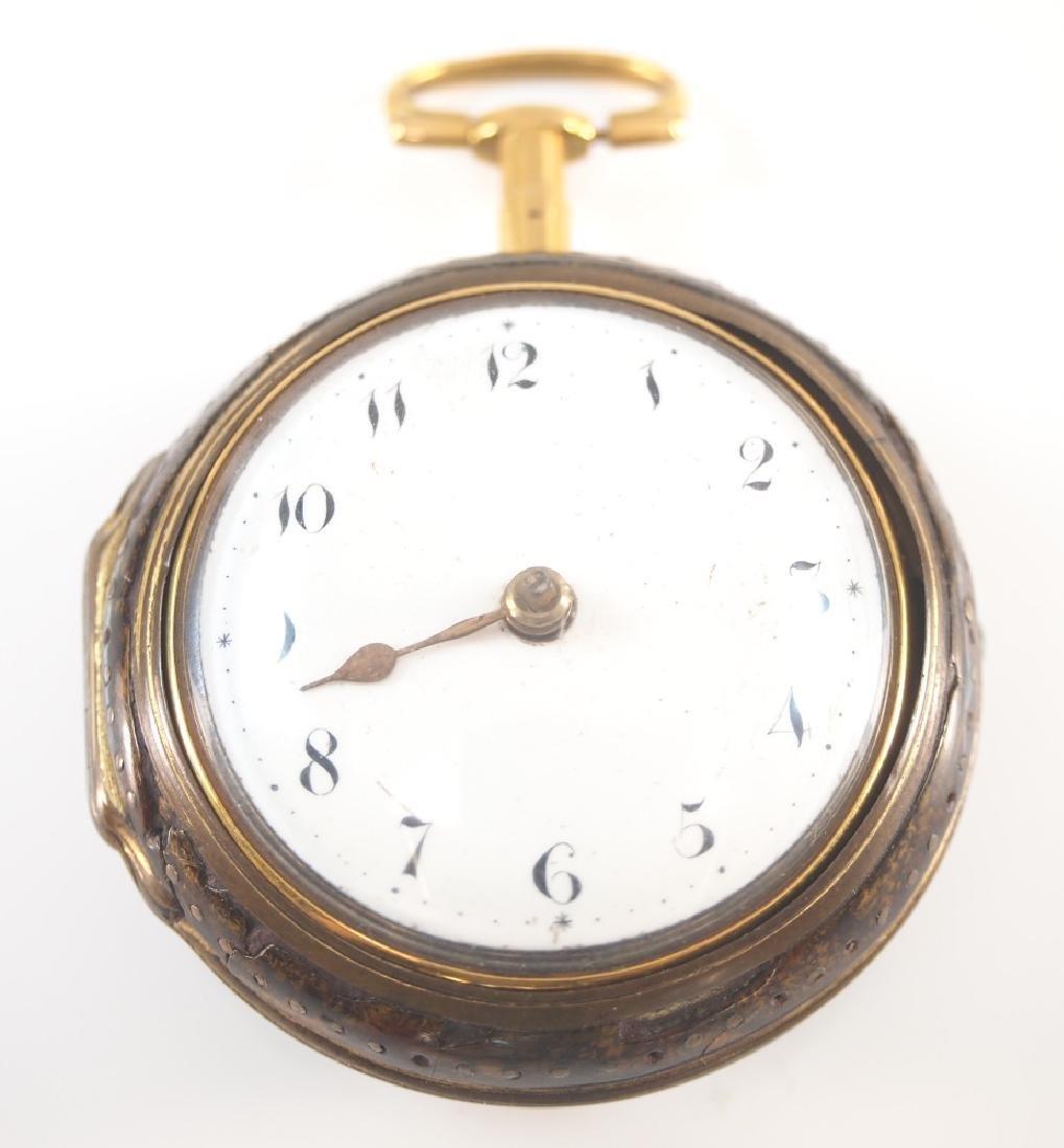 Geo. Blanford pair case pocket watch