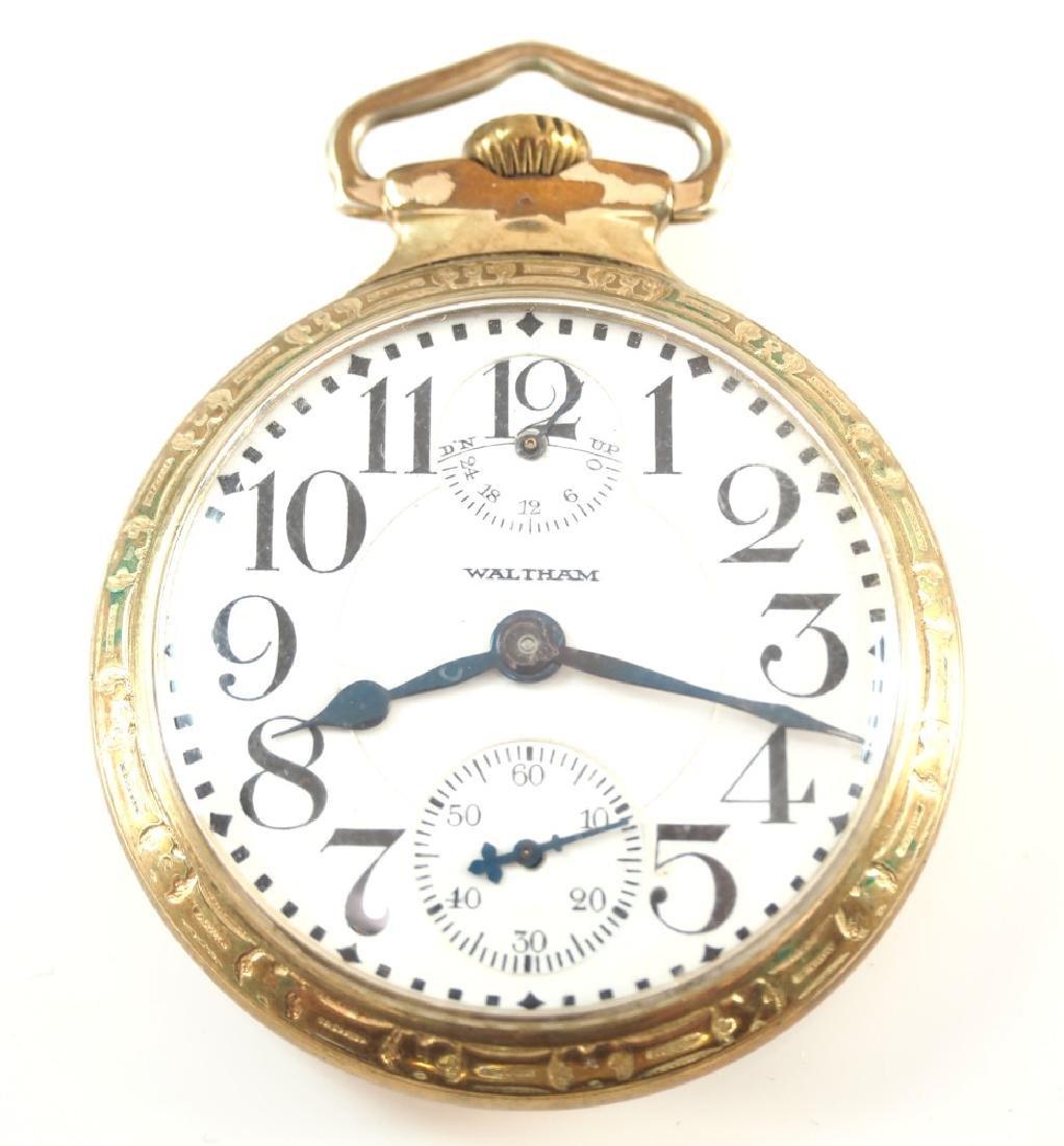 AWW Co. Vanguard Up/Down pocket watch