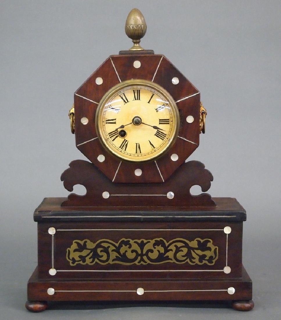 Fusee mantle clock