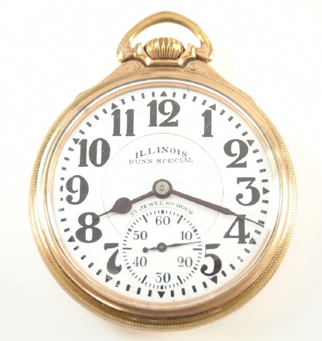 Illinois 23j 60 hr Bunn Special Railroad watch