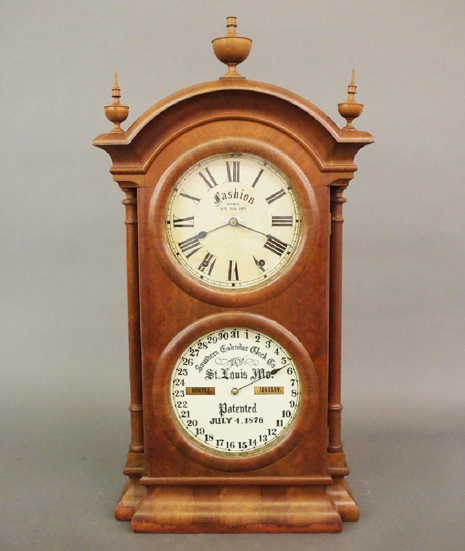 Southern Calendar Clock Co. No. 2 shelf clock