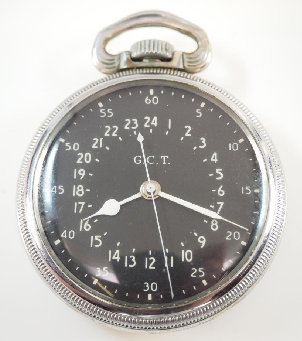 Hamilton 4992B Military pocket watch