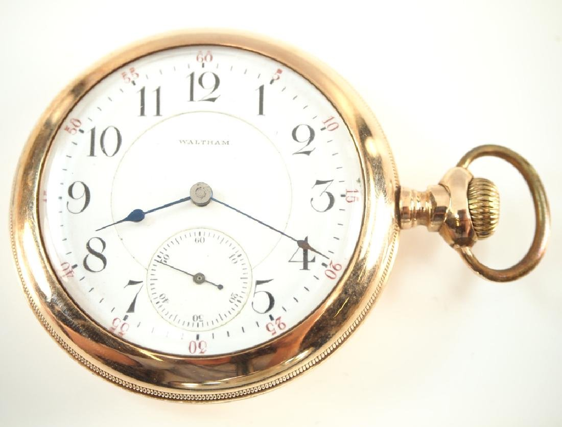 AWW Co. Crescent St. pocket watch