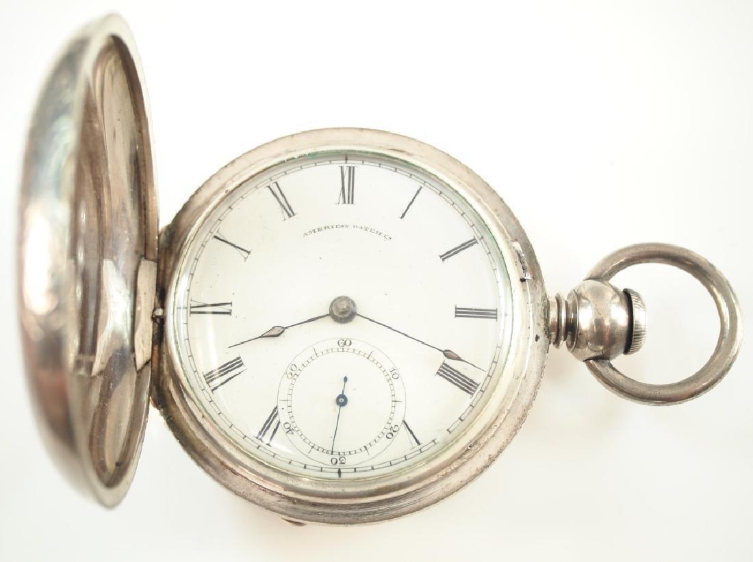 AWW Co. P. S. Bartlett pocket watch - 2