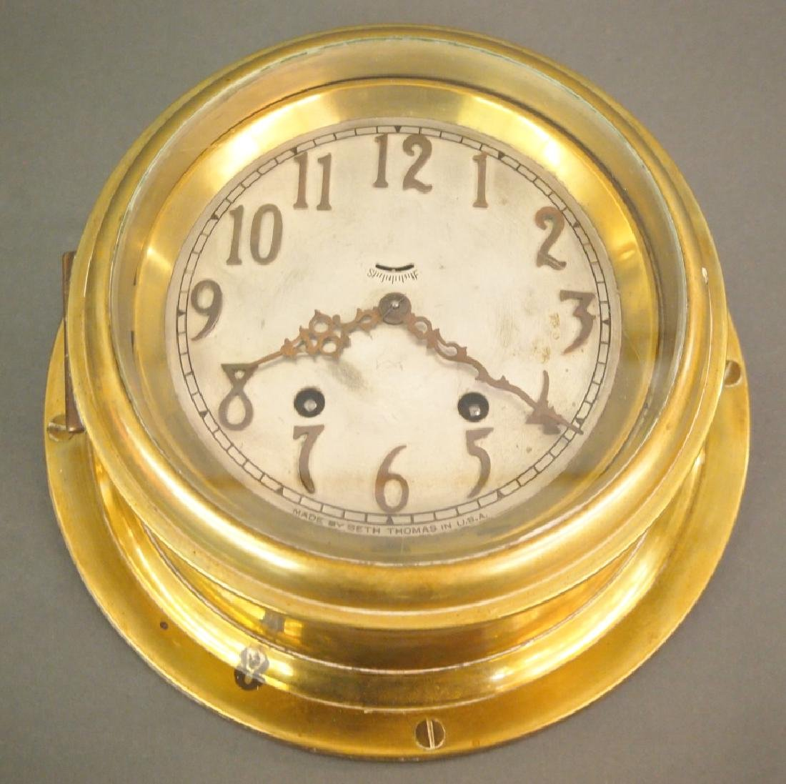 Seth Thomas marine clock