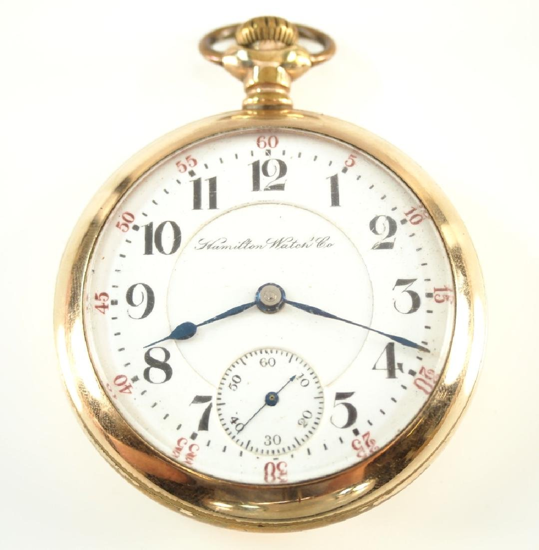 Hamilton 942 pocket watch