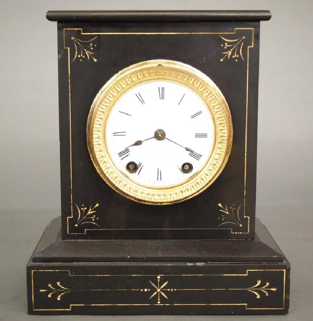 Seth Thomas slate mantle clock