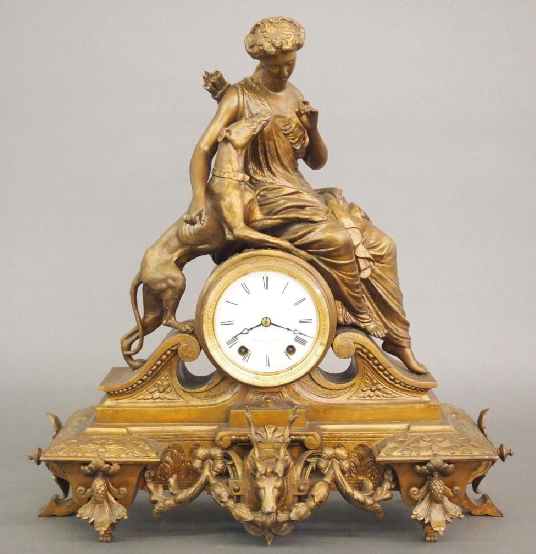 Seth Thomas No. 8023 figural clock