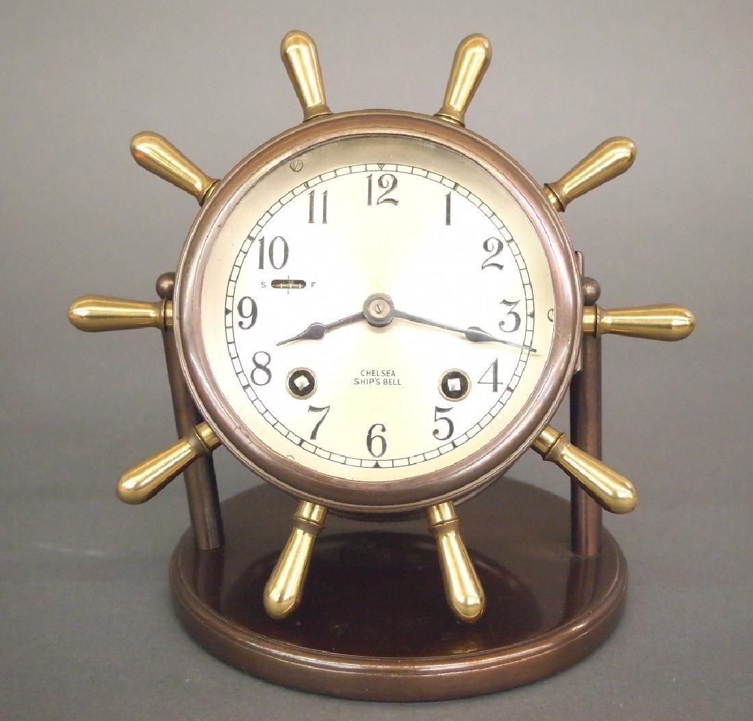 Chelsea Vanderbilt desk clock