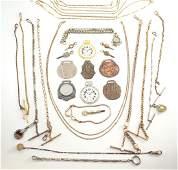 Watch chains & accessories, 30 pcs