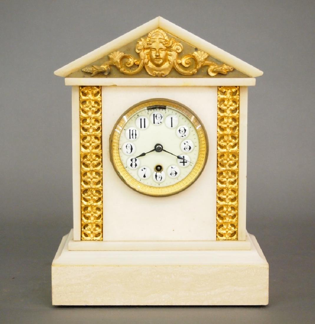 Boston Clock Co. Onyx mantle clock