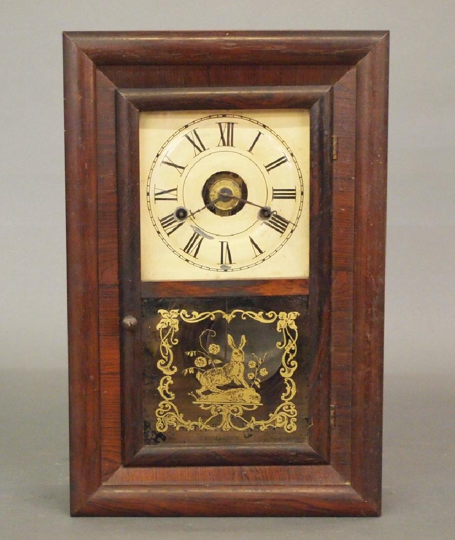 Seth Thomas mini ogee shelf clock