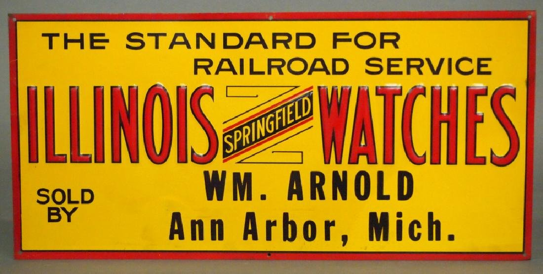 Illinois Watch advertising sign