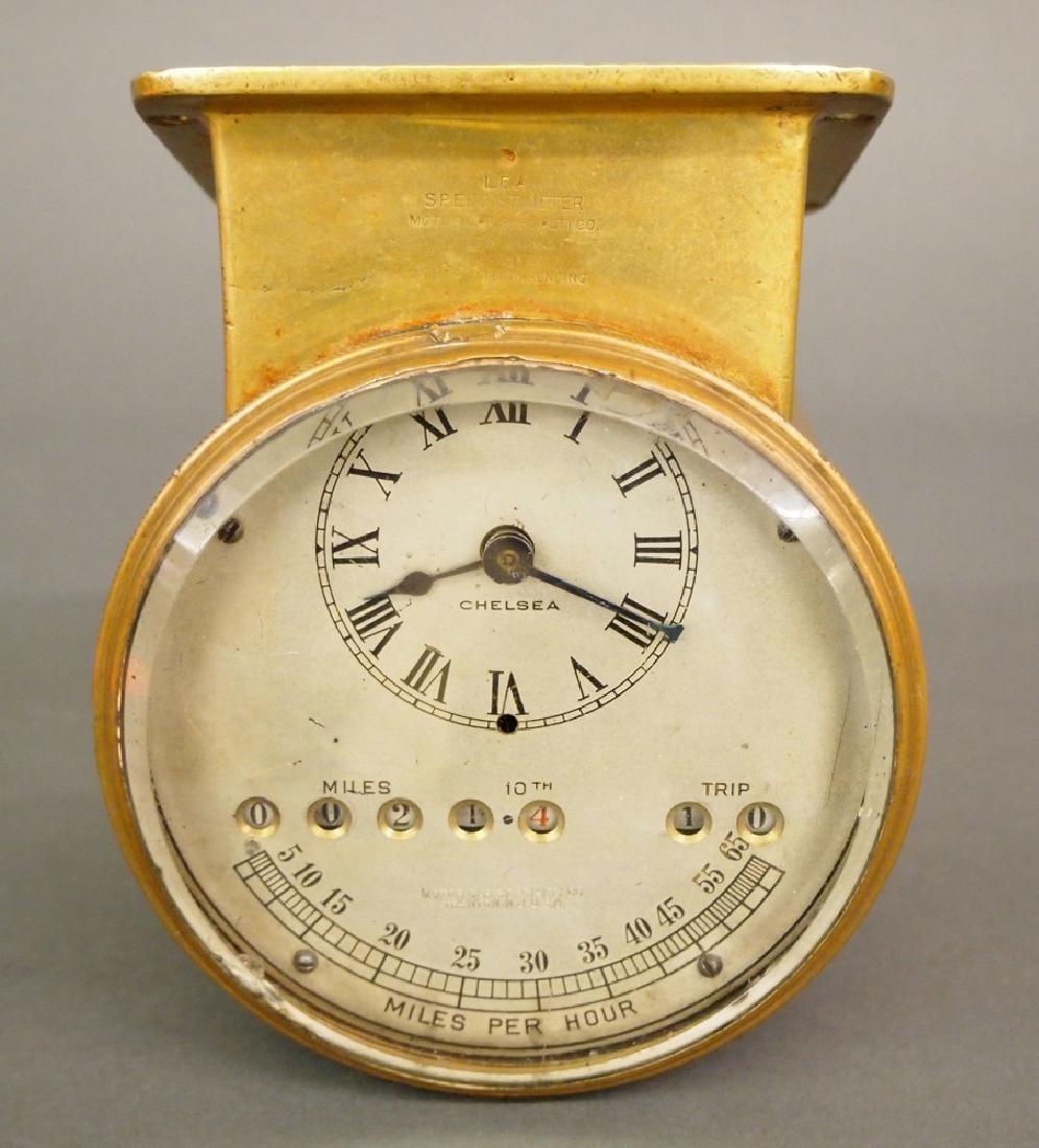 Lea Speedistimeter car clock
