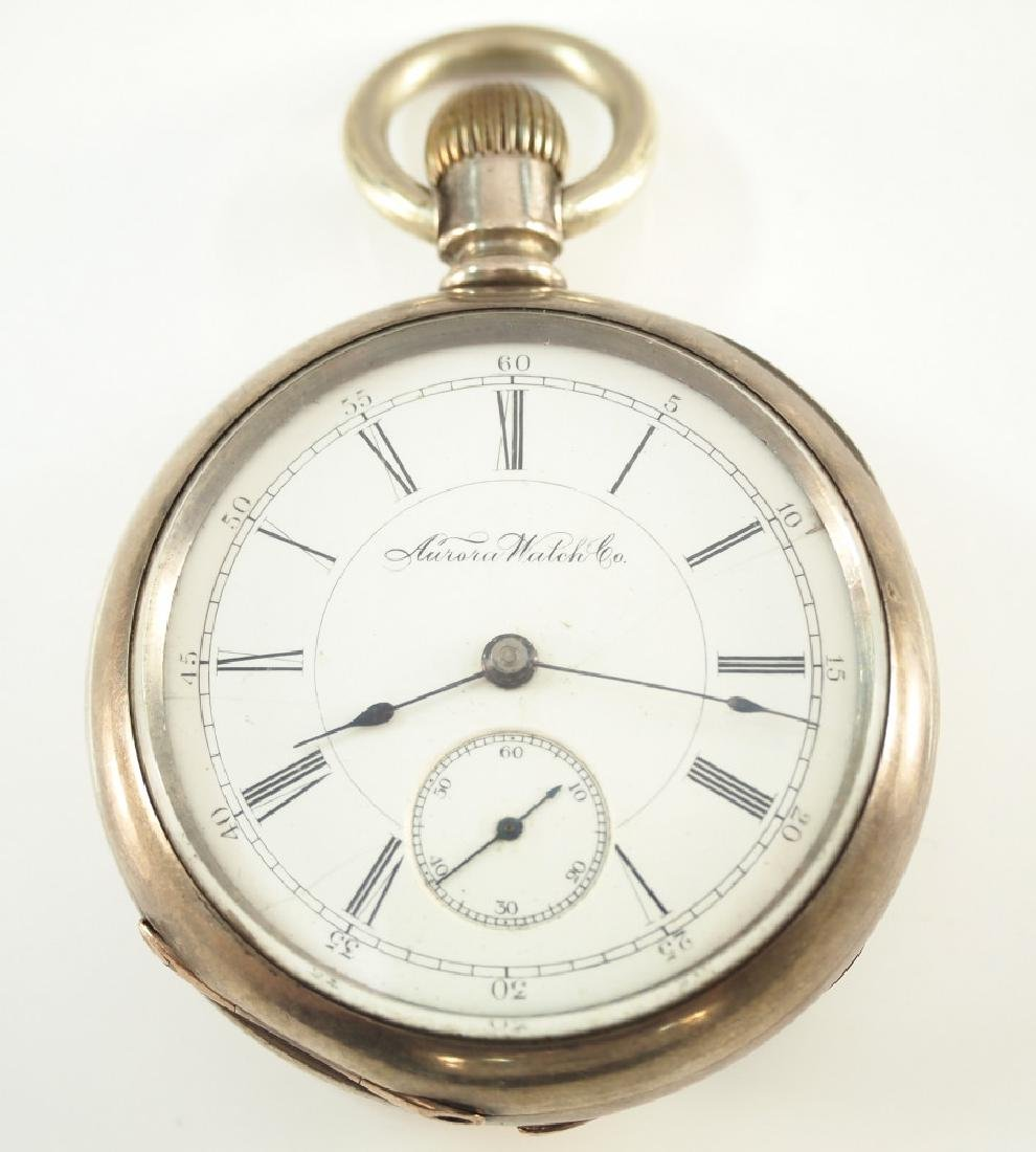 Aurora Watch Co. pocket watch