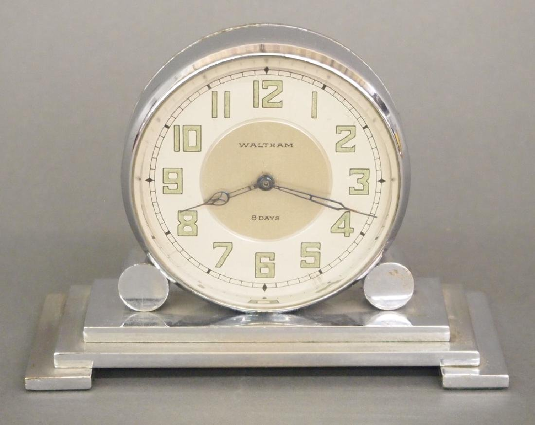 "Waltham ""Partners"" desk clock"