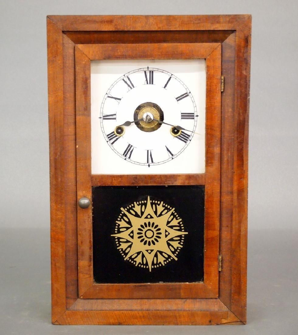 Seth Thomas mini ogee shelf clock