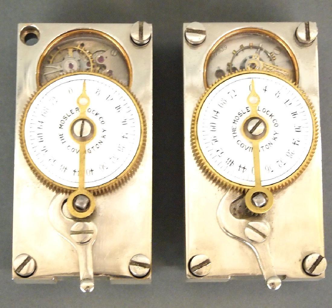 2 Mosler Bank Vault time locks