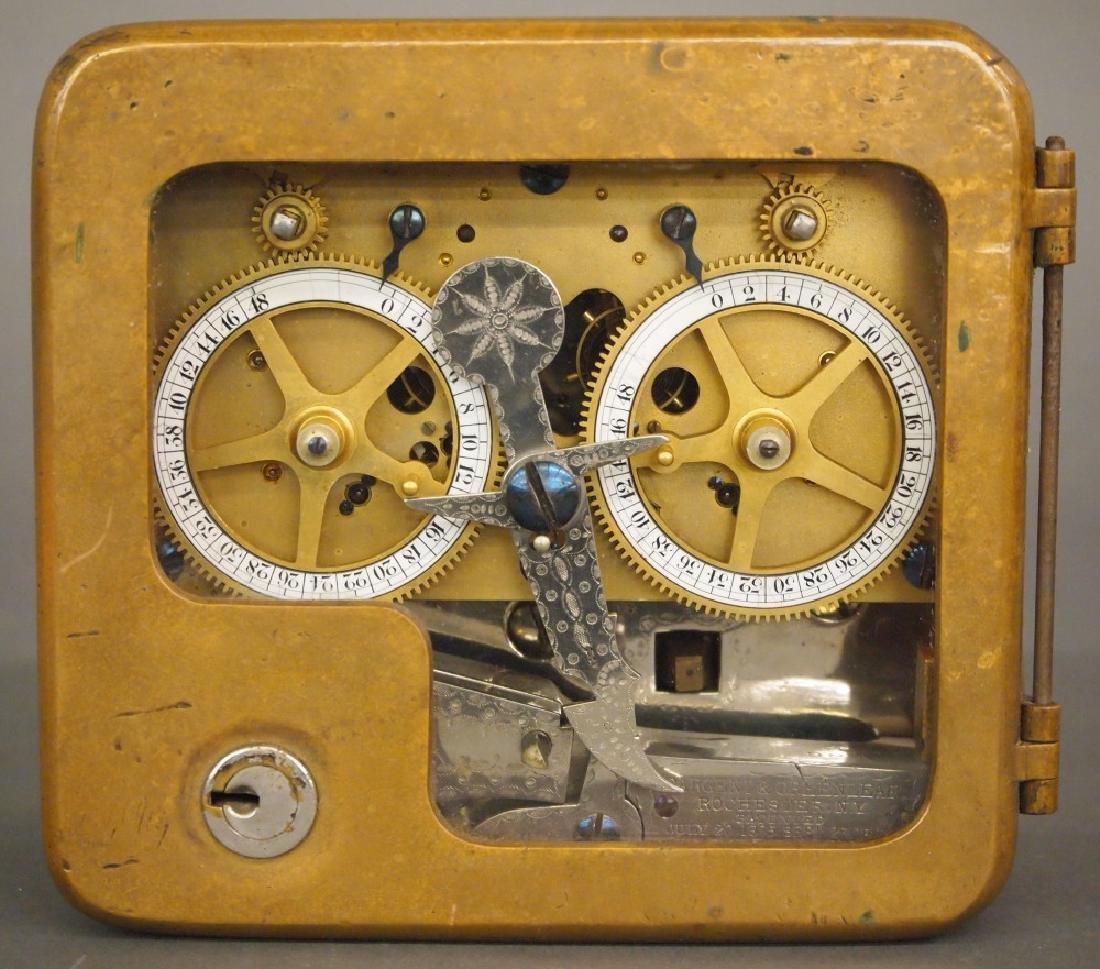 Sargent & Greenleaf Bank Vault clock