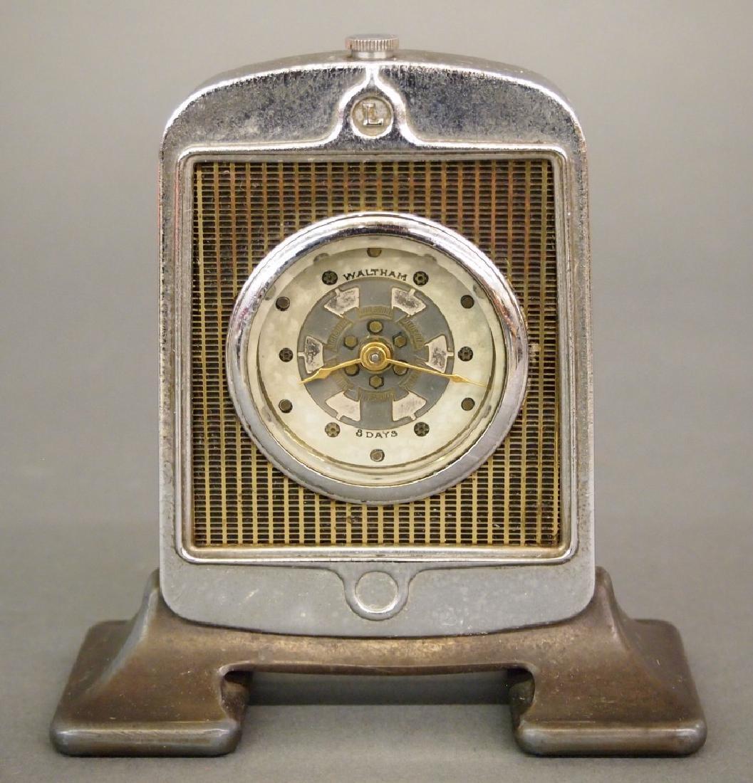 Waltham Novelty Car Radiator clock