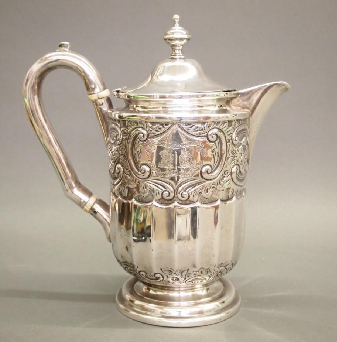Sterling Silver kettle