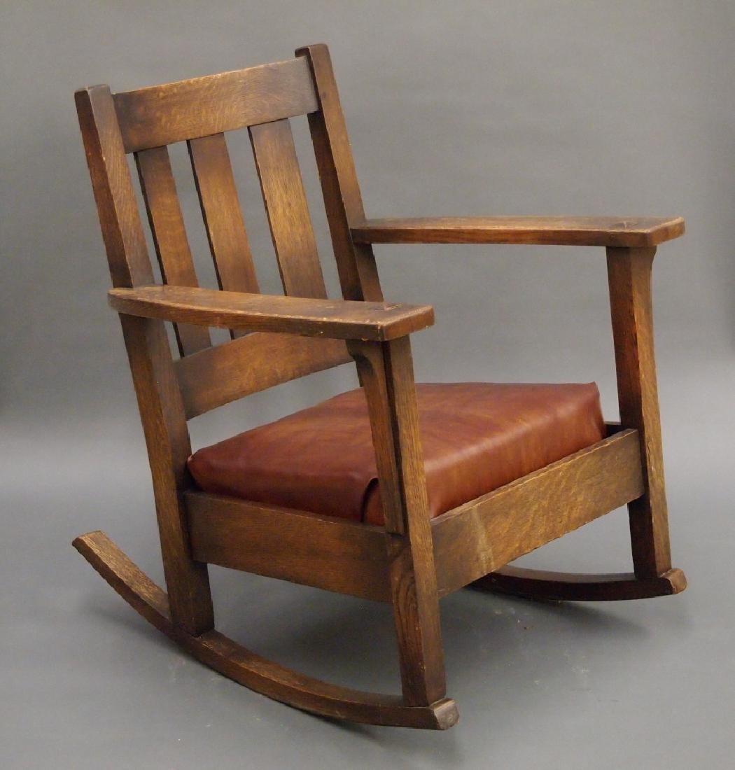 Limbert rocking chair