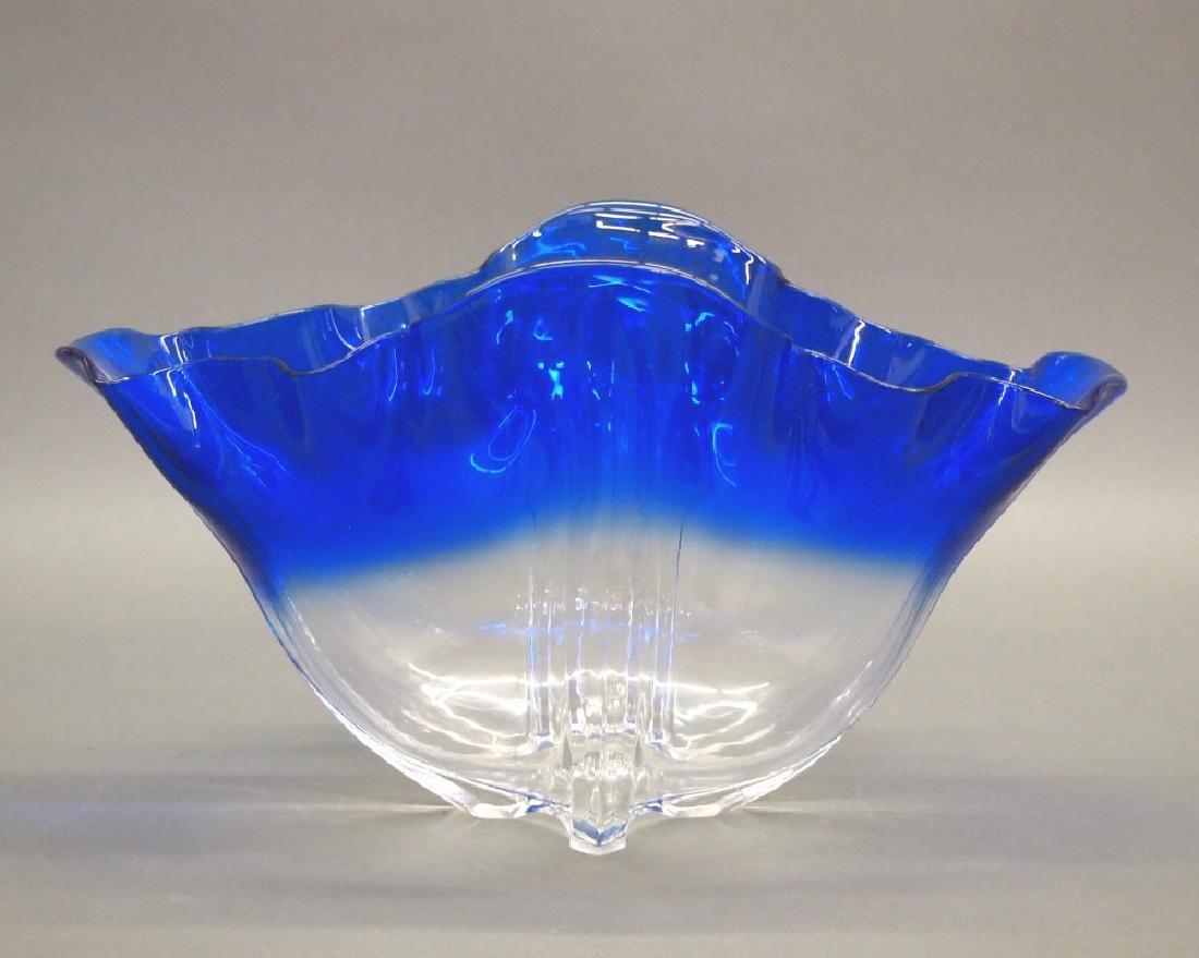 Steuben Grotesque bowl