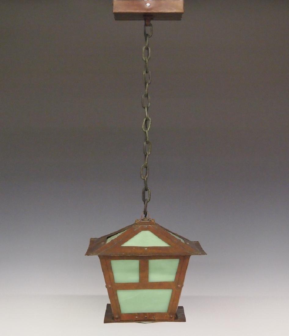 Arts and Crafts hanging light