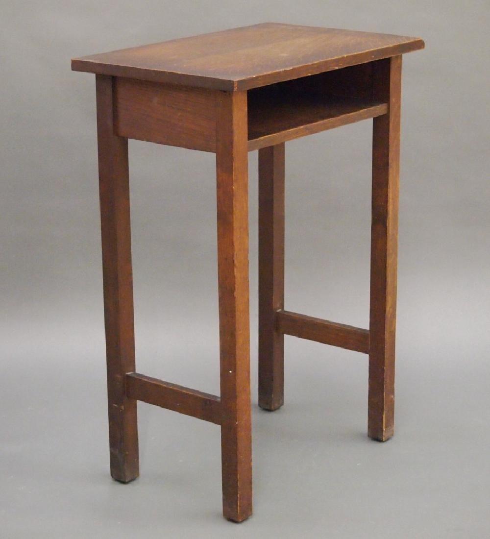 Gustav Stickley telephone table