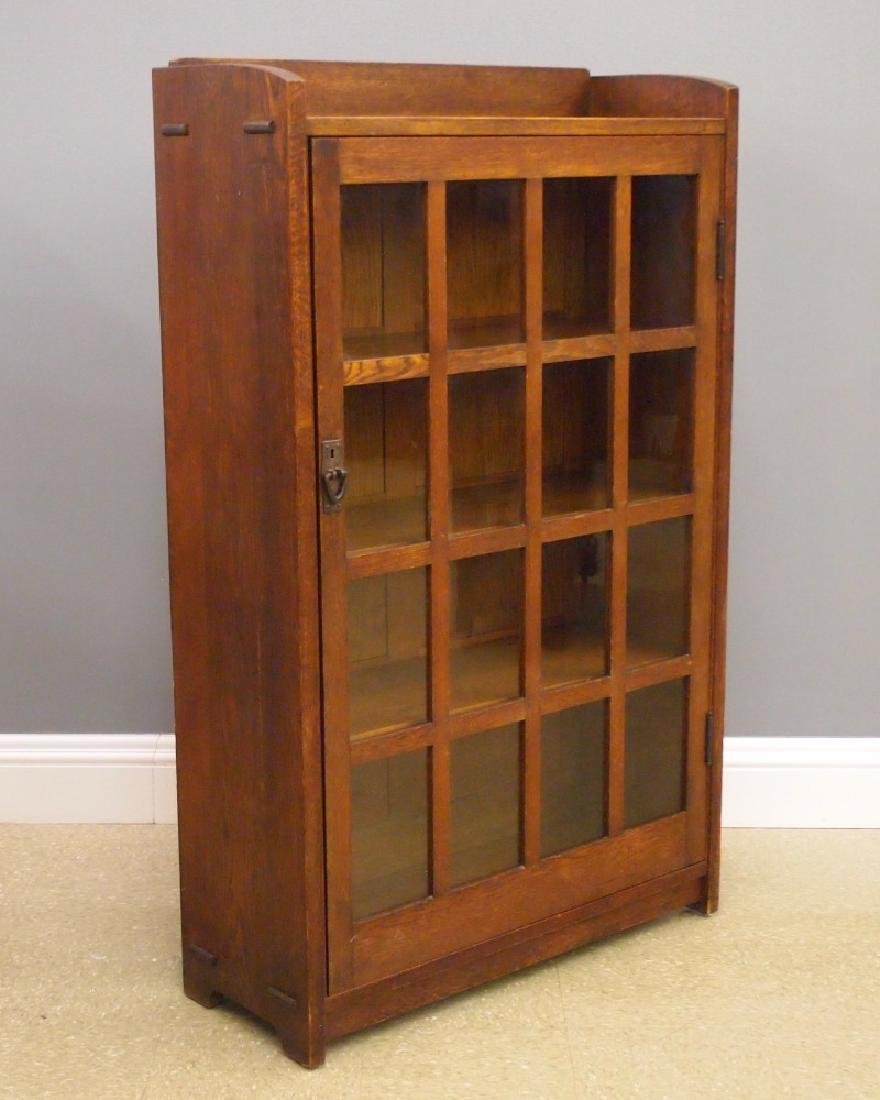 Gustav Stickley Arts and Crafts bookcase