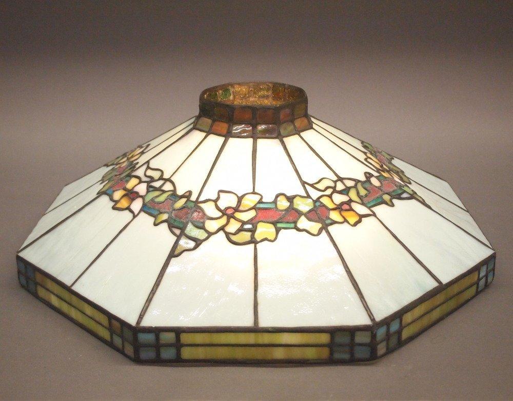 American Leaded Glass Lamp Shade