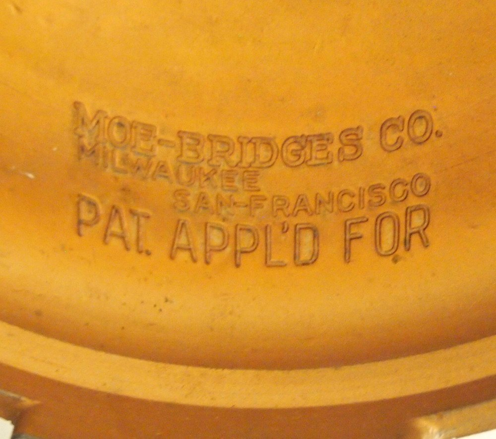 Moe Bridges Co. Patinated Metal Lamp Base - 3