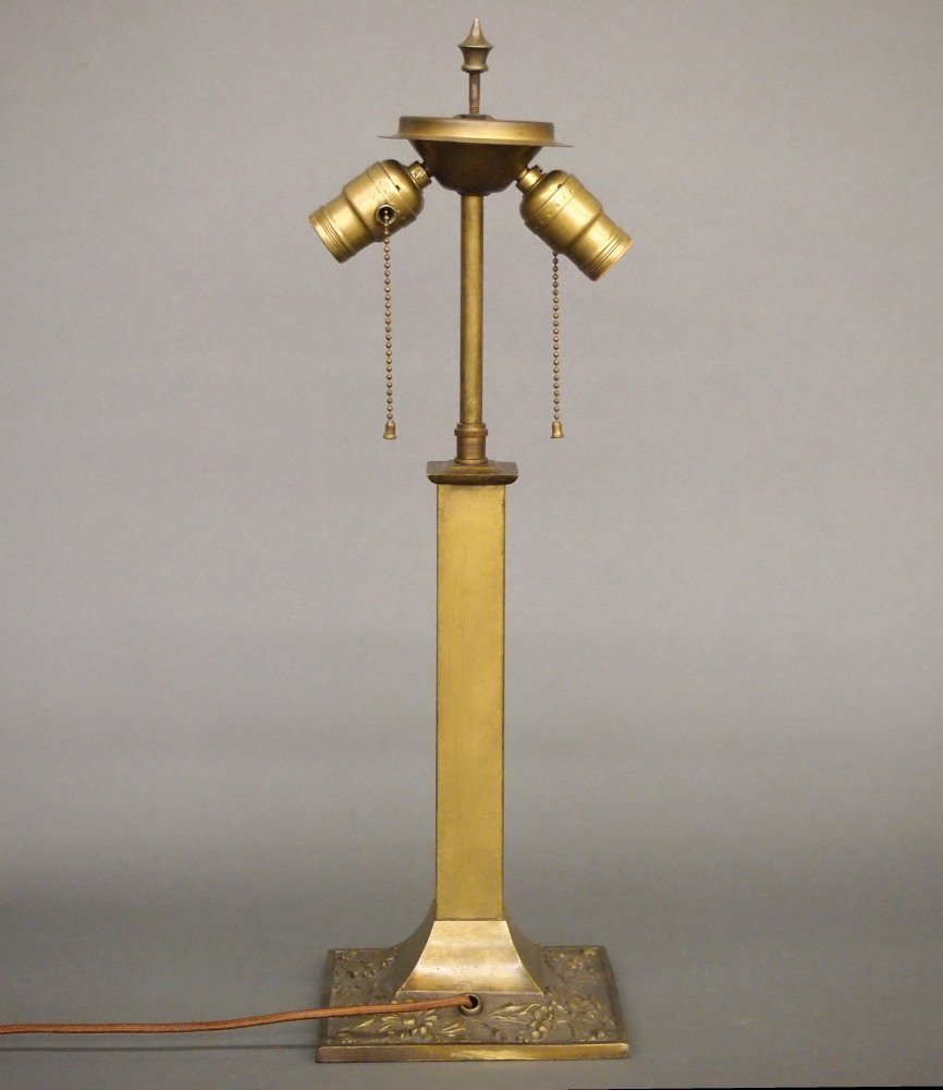 Brass Patinated Lamp Base - 2