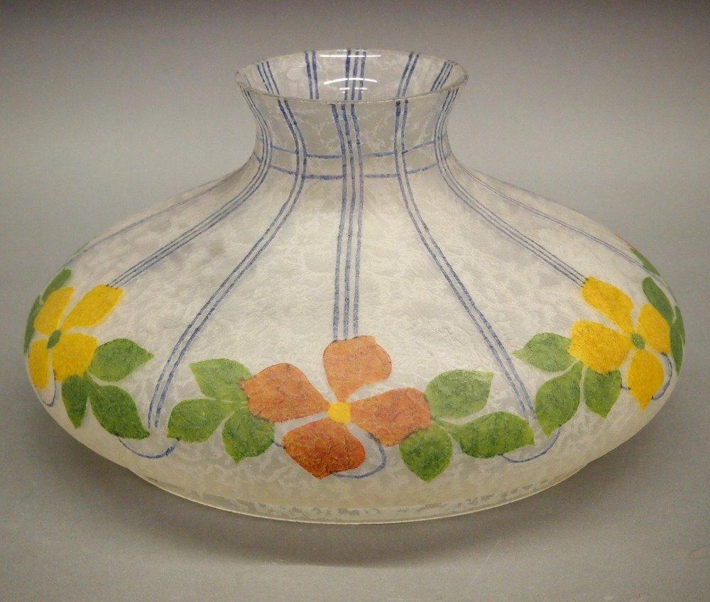 Handel Glass Kerosene Lamp Shade