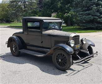 1928 Durant Star M2 Coupe