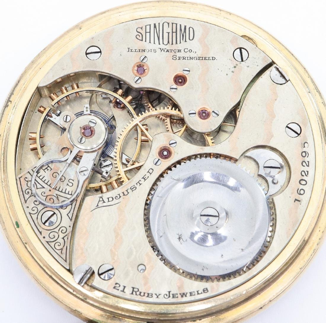 "Illinois ""Sangamo"" Railroad watch - 2"