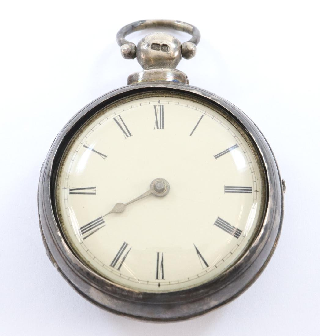 Early pair case Northcott & Son pocket watch