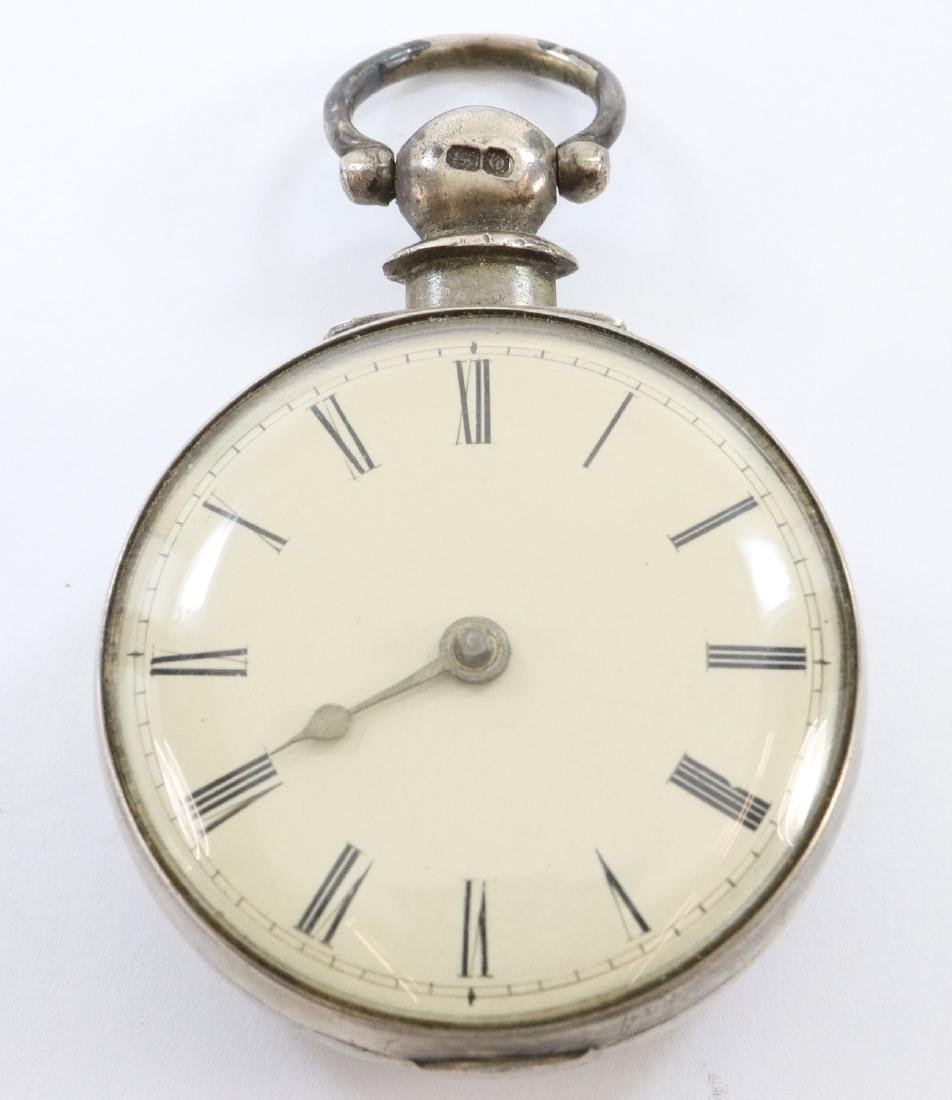 Early pair case Northcott & Son pocket watch - 2