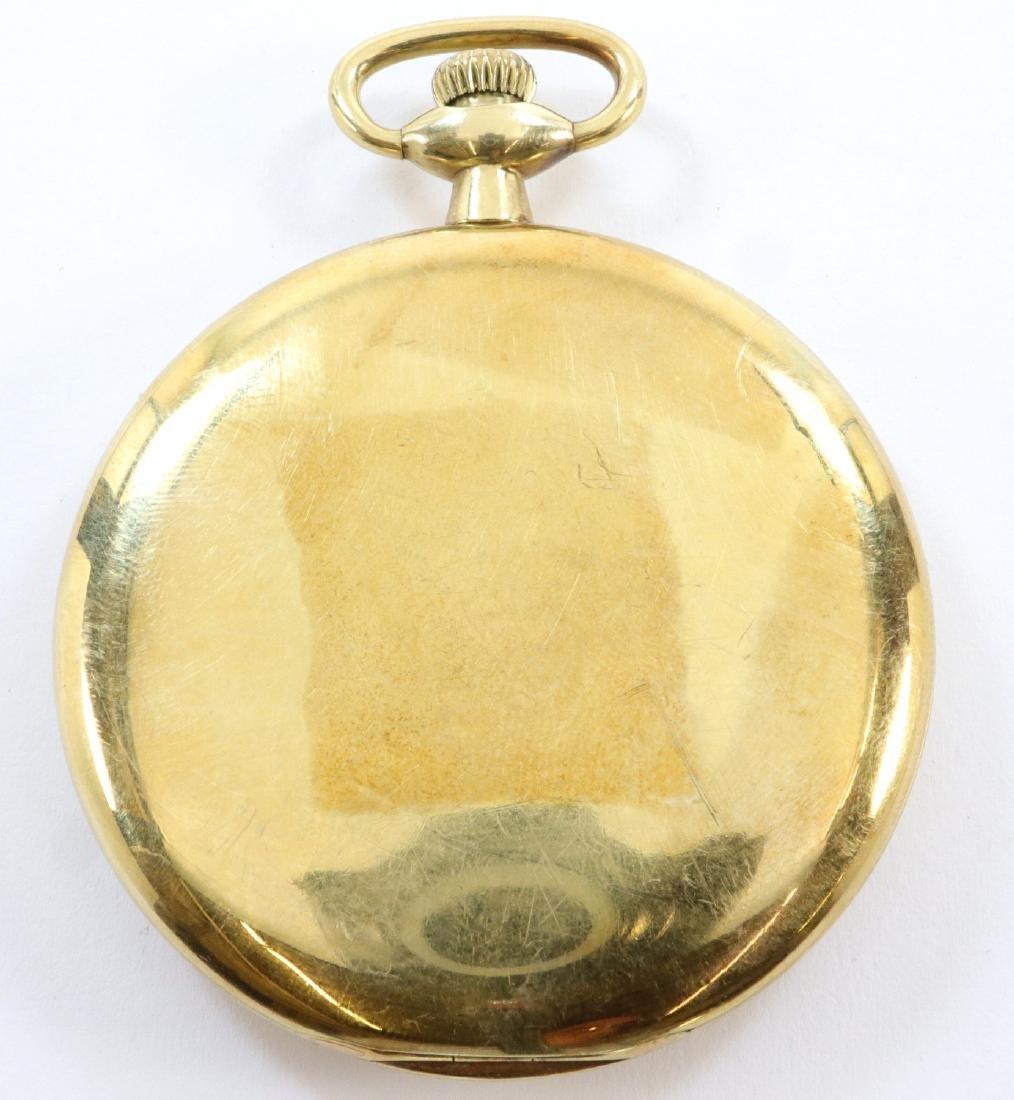 Gruen Verithin 14k Gold pocket watch - 3